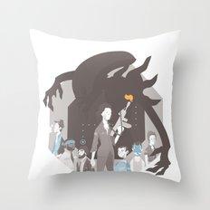 Alien Throw Pillow
