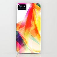 iPhone Cases featuring Abstract Geometric -  Color Vortexes by Ciro Design