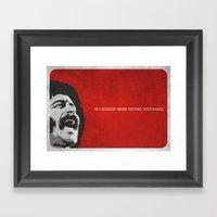 Mi Canción Sigue Siendo… Framed Art Print