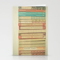 books Stationery Cards featuring Books by Cassia Beck