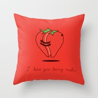 How Much Do I Love You? Throw Pillow