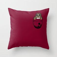 Pocket Dude (01) Throw Pillow