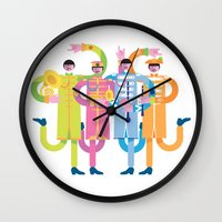 Sgt. Peppers Reloaded Wall Clock