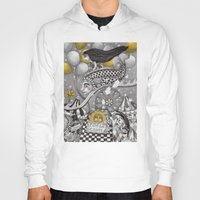 Hoody featuring Roller Coaster Ride by Judith Clay