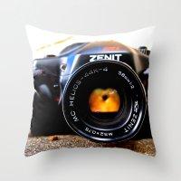 Zenit Throw Pillow