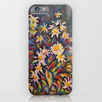 Mom's White Daisies iPhone 6 Slim Case