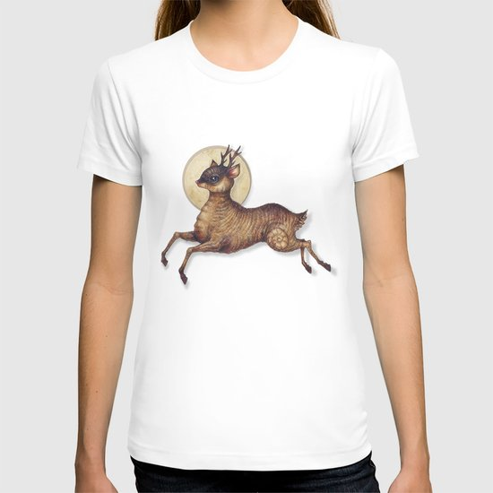 Deer in Leap T-shirt