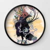 You Are Free To Fly Wall Clock