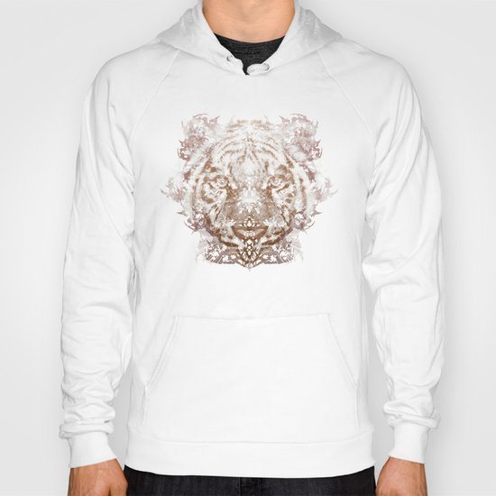 The White Tiger (Gold Version) Hoody