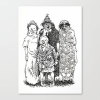 Trick R' Treat Canvas Print