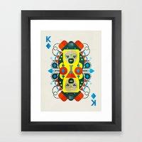 Heisenberg Fan Art Framed Art Print