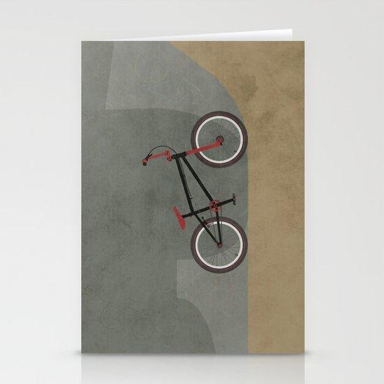 BMX Bike Stationery Card