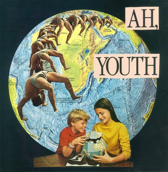 ah, youth Canvas Print