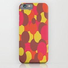 Autumn Retro Circles Design iPhone 6 Slim Case