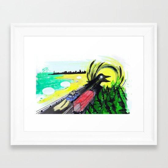 """""""Summer Tours"""" by Cap Blackard Framed Art Print"""