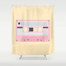 #52 Cassette Tape Shower Curtain