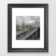BMX Framed Art Print