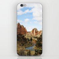 Smith Rock iPhone & iPod Skin