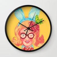 Lapin Belle Wall Clock
