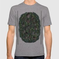 Little Forest Town Mens Fitted Tee Athletic Grey SMALL