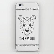 Totem Festival 2015 - Black & White iPhone & iPod Skin