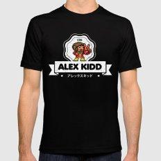Alex Kidd SMALL Mens Fitted Tee Black