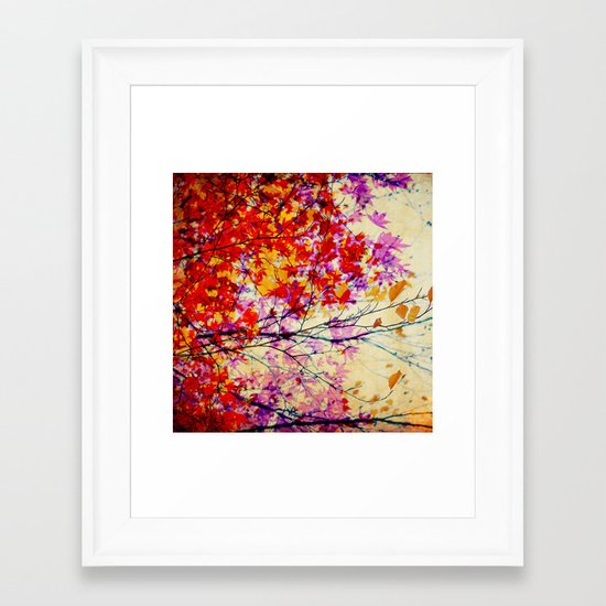 Autumn 5 Framed Art Print