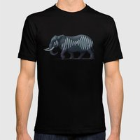 Elepham (Herd of Sheffield) Mens Fitted Tee Black SMALL