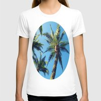 palm trees T-shirts featuring Palm Trees by Jillian Stanton