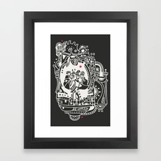 Puncho Framed Art Print