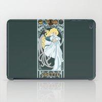 Odette Nouveau - Swan Pr… iPad Case