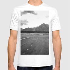 Where the City Ends, And Giants Take Over Mens Fitted Tee SMALL White