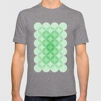 Geometric Abstraction II… Mens Fitted Tee Tri-Grey SMALL