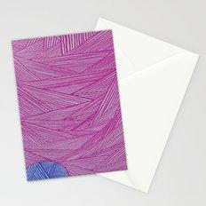Magenta+Ultra Marine Stationery Cards
