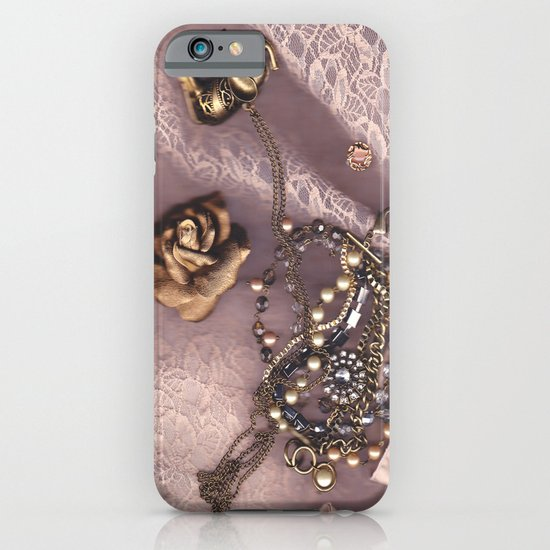 Pink 3 iPhone & iPod Case
