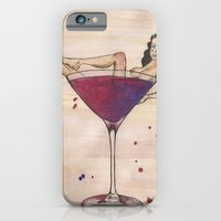 iPhone & iPod Case featuring Martini please by katieellen