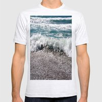 Surf Mens Fitted Tee Ash Grey SMALL