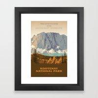 Kootenay National Park Framed Art Print