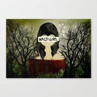 Nasty Girl  Canvas Print