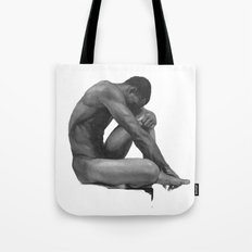 male nude  Tote Bag