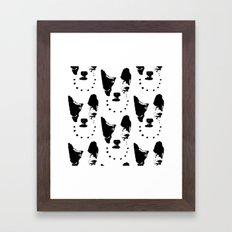 Frenchie! Framed Art Print