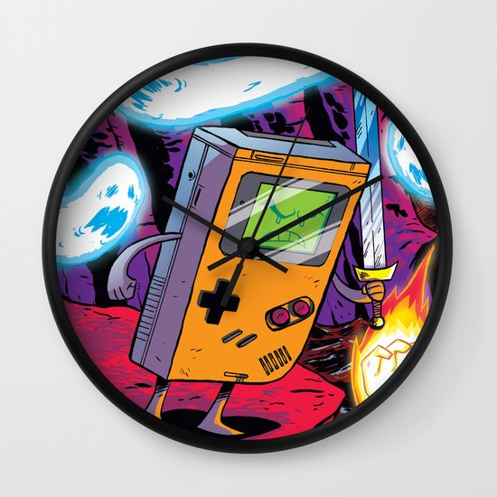 The Legend of Gameboy Wall Clock