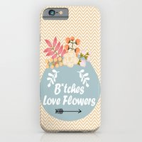 NSFW - B*tches Love Flowers iPhone 6 Slim Case