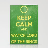 lord of the rings Stationery Cards featuring Lord of the Rings by MeMRB
