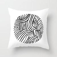 Circle Series #3 Throw Pillow