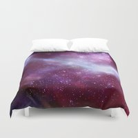 A Night Without Lights Duvet Cover