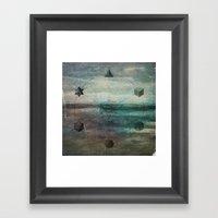 Platonic Solids Framed Art Print