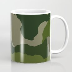 Shades of Green Camo Mug