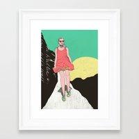 Adventure time Framed Art Print