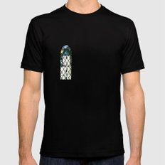 Neuschwanstein - Germany Black SMALL Mens Fitted Tee